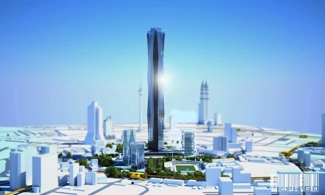 Tòa nhà cao nhất thế giới sắp mất ngôi, 1.000m chưa là gì - 2