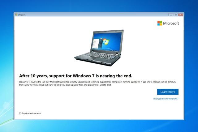 Microsoft chuẩn bị khai tử Windows 7 - Kết thúc một tượng đài - 1