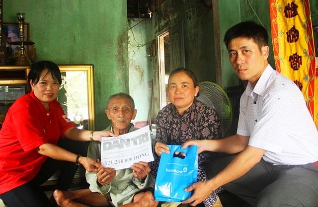 Bạn đọc Dân trí tiếp tục giúp đỡ cụ Nguyễn Lừng hơn 121 triệu đồng - 1