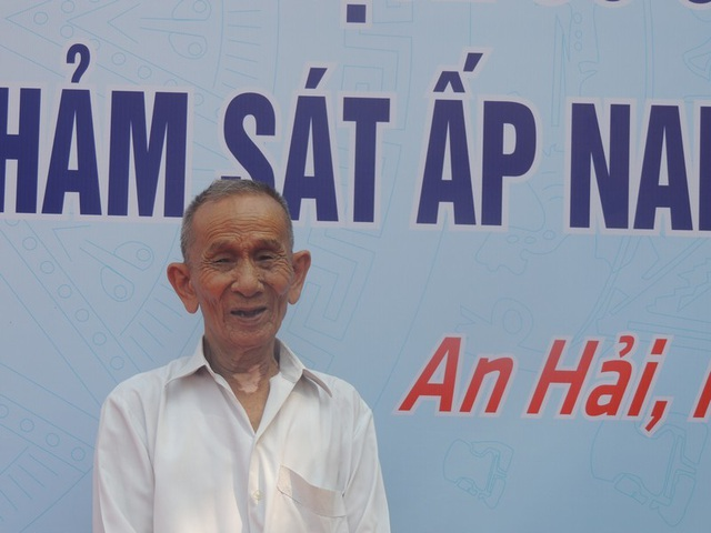 Ông Nguyễn Văn Thọ - nhân chứng sống duy nhất của sự kiện thảm sát Ấp Nam năm 1947
