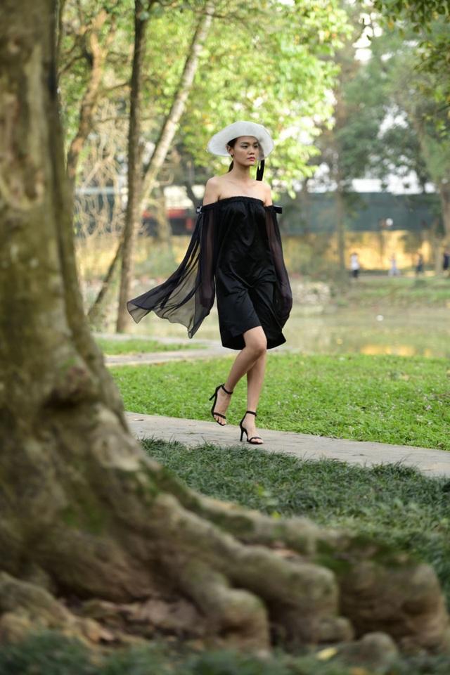 Chiêm ngưỡng lụa tơ tằm cao cấp đắt nhất Bảo Lộc biến hoá trong thời trang Thu - Đông - 9