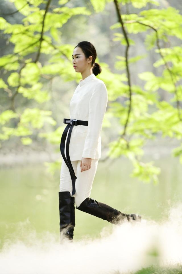 Chiêm ngưỡng lụa tơ tằm cao cấp đắt nhất Bảo Lộc biến hoá trong thời trang Thu - Đông - 3