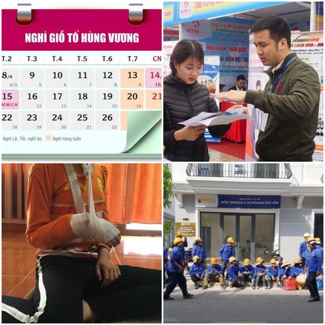 Lịch nghỉ Giỗ Tổ Hùng Vương, đình công đòi lương, bí kíp dự phỏng vấn… - 1