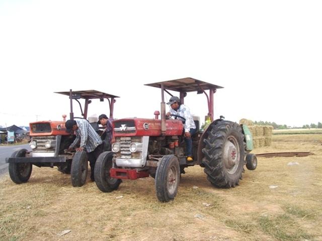 """Rơm """"đắt xắt ra miếng"""", nông dân thu tiền triệu mỗi ngày - 5"""