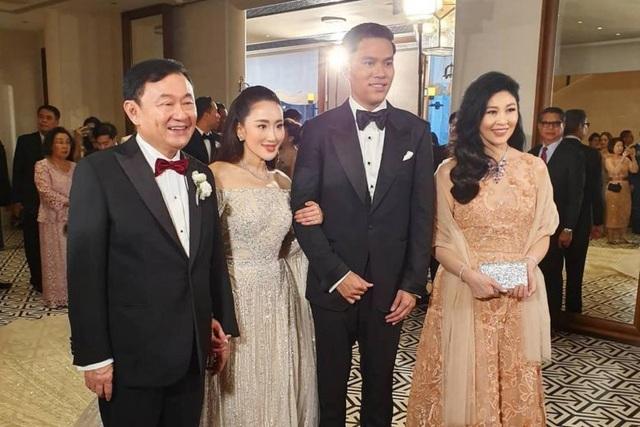 Công chúa Thái Lan đến Hong Kong dự đám cưới xa hoa của con gái Thaksin - 3