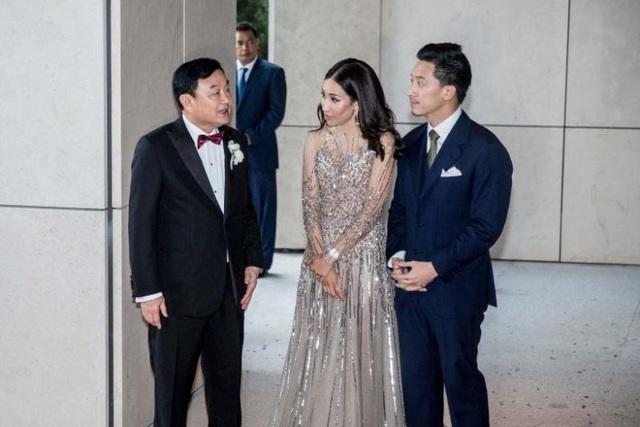 Công chúa Thái Lan đến Hong Kong dự đám cưới xa hoa của con gái Thaksin - 1