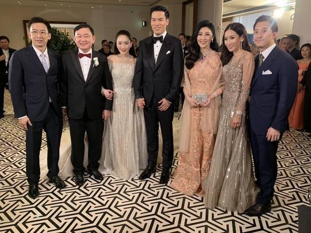 Công chúa Thái Lan đến Hong Kong dự đám cưới xa hoa của con gái Thaksin - 5