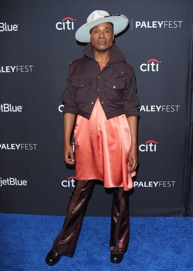 Billy Porter gây chú ý với trang phục nữ tính - 3