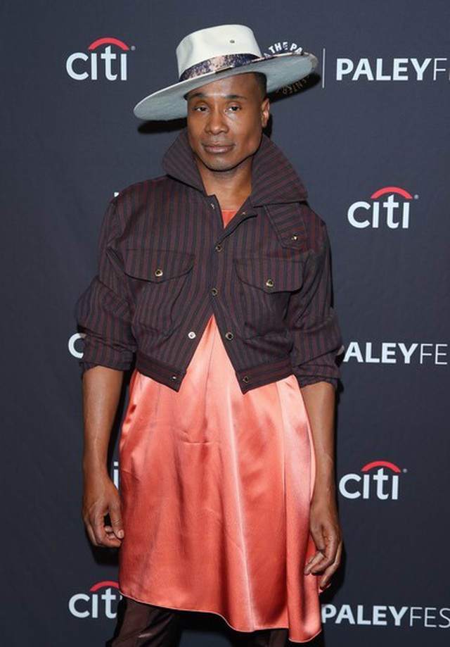 Billy Porter gây chú ý với trang phục nữ tính - 4