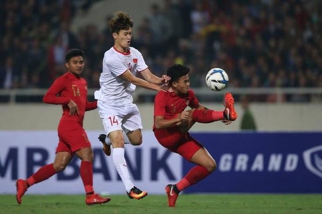 U23 Việt Nam 1-0 U23 Indonesia:  - 15