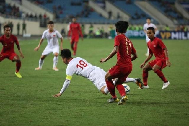 U23 Việt Nam 1-0 U23 Indonesia:  - 4