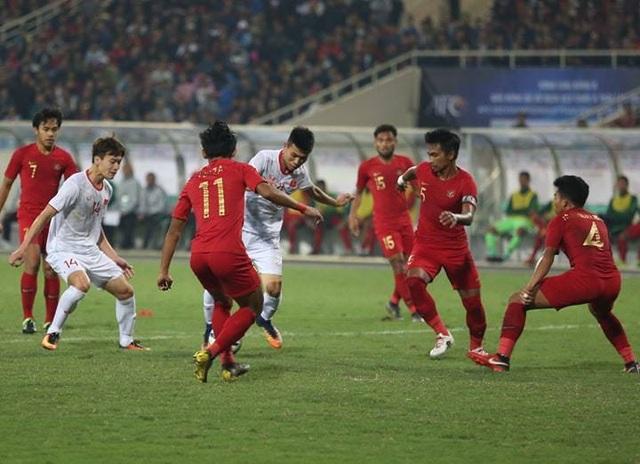 U23 Việt Nam 1-0 U23 Indonesia:  - 3