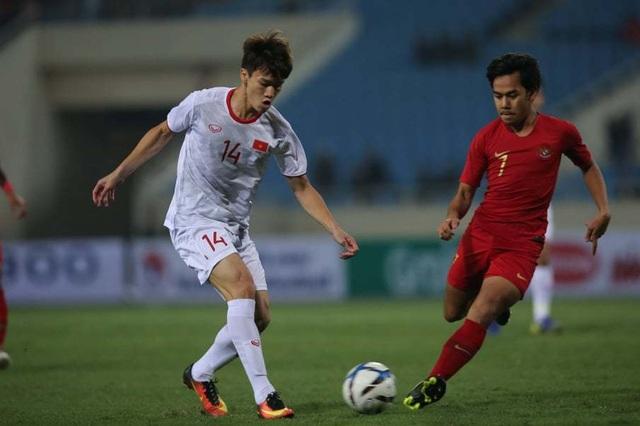 U23 Việt Nam 1-0 U23 Indonesia:  - 20