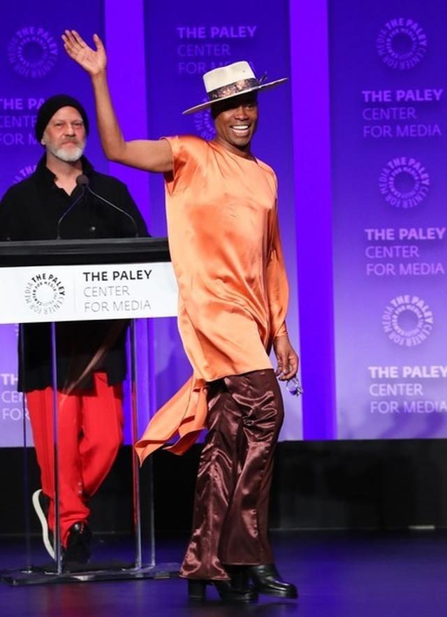 Billy Porter gây chú ý với trang phục nữ tính - 5