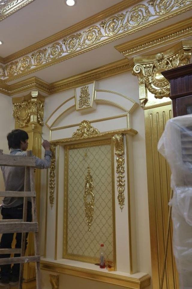 Choáng trước những siêu biệt thự dát vàng của giới nhà giàu Việt - 11