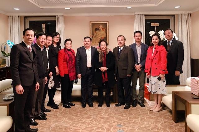 Hội Khuyến học Việt Nam thăm Hội Khuyến học báo ASAHI Nhật Bản - 1