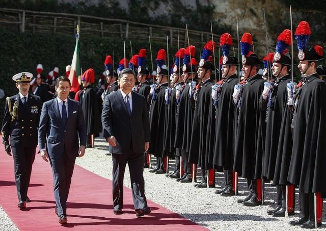 """Italy gia nhập """"Vành đai, Con đường"""" của Trung Quốc bất chấp cảnh báo của đồng minh - 1"""