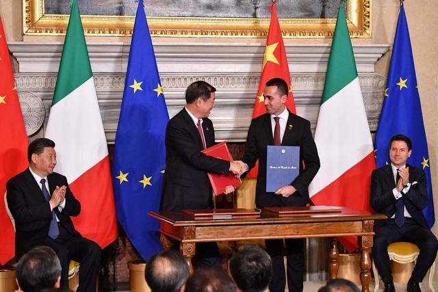 """Italy gia nhập """"Vành đai, Con đường"""" của Trung Quốc bất chấp cảnh báo của đồng minh - 2"""
