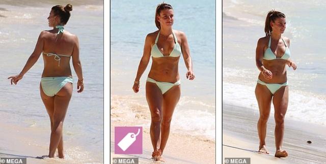 Coleen Rooney hạnh phúc đi nghỉ mát cùng chồng  - 2