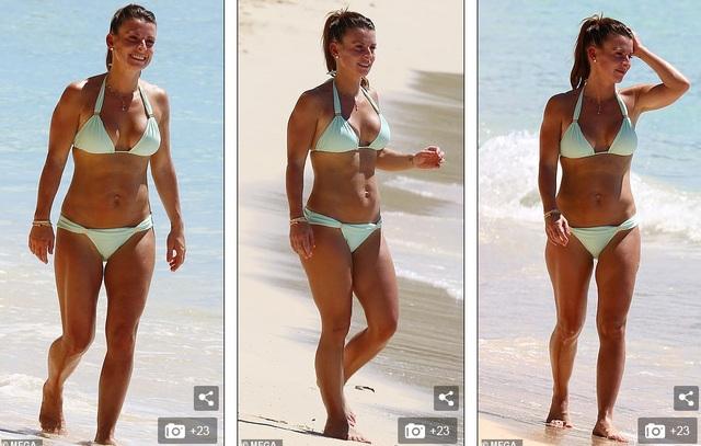 Coleen Rooney hạnh phúc đi nghỉ mát cùng chồng  - 4