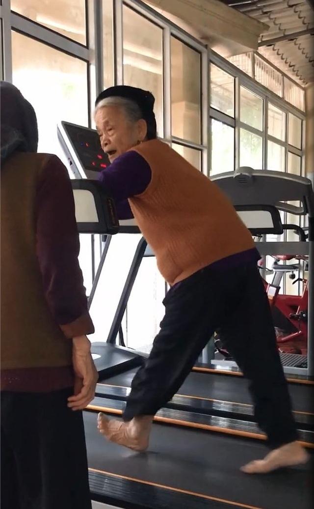 Câu chuyện phía sau clip cụ bà 84 tuổi chăm tập gym gây bão mạng - 1