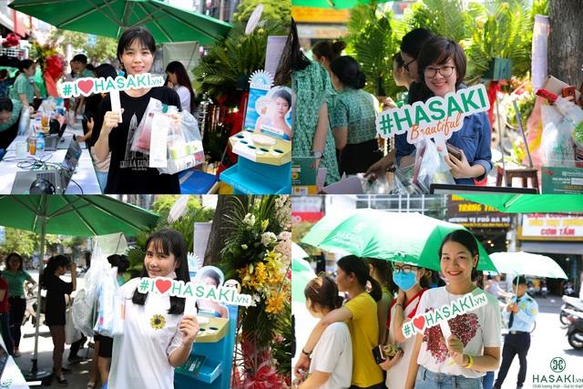 """Choáng với không khí """"đông như lễ hội"""" trong ngày khai trương Hasaki Bình Thạnh - 3"""