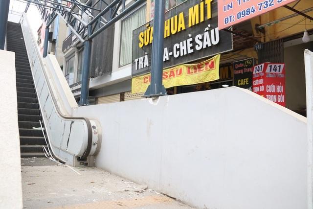 Nhiều chi tiết nhà ga tàu điện Cát Linh - Hà Đông đã hư hỏng - 11