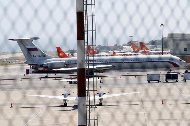 Nghi vấn máy bay quân sự chở binh sĩ Nga đáp xuống Venezuela - 1