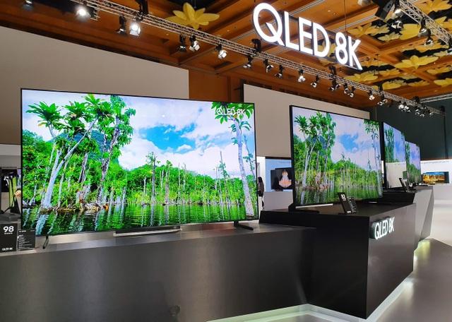 Samsung tung loạt TV QLED 8K và 4K khủng tại SEAO 2019 - 2