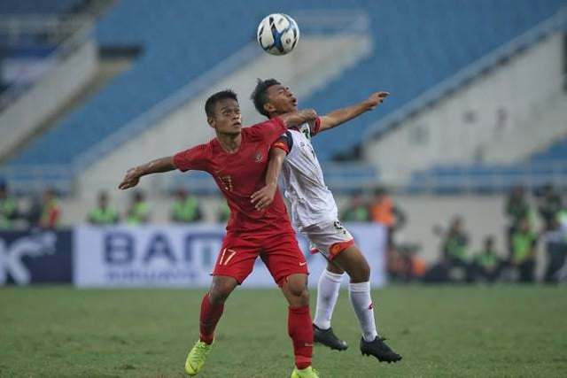 Bị đuổi 1 người, U23 Indonesia giành 3 điểm hú vía trước U23 Brunei - 2