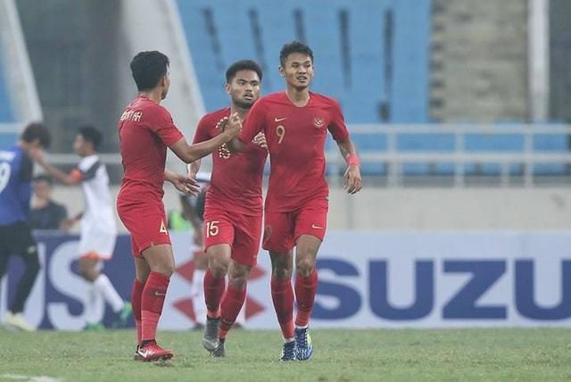 Bị đuổi 1 người, U23 Indonesia giành 3 điểm hú vía trước U23 Brunei - 1
