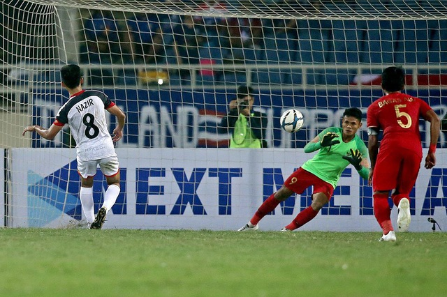 Bị đuổi 1 người, U23 Indonesia giành 3 điểm hú vía trước U23 Brunei - 6