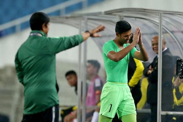 Bị đuổi 1 người, U23 Indonesia giành 3 điểm hú vía trước U23 Brunei - 4