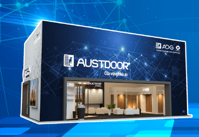 Austdoor giới thiệu giải pháp cửa thông minh tại Vietbuild Hà Nội - 1
