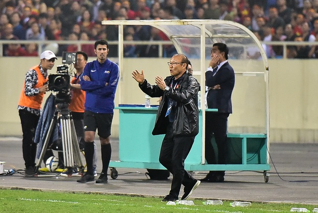 Những cảm xúc đặc biệt của HLV Park Hang Seo trong trận thắng đậm U23 Thái Lan - 9