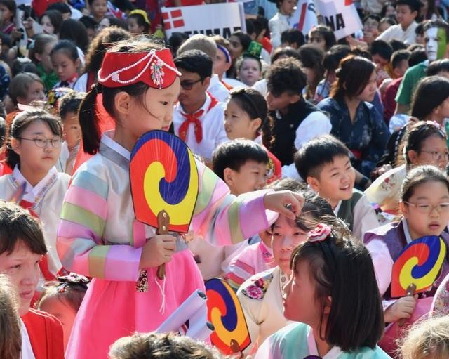 Đặc sắc ngày hội học sinh trường quốc tế có 54 quốc tịch - 9