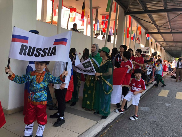 Đặc sắc ngày hội học sinh trường quốc tế có 54 quốc tịch - 12