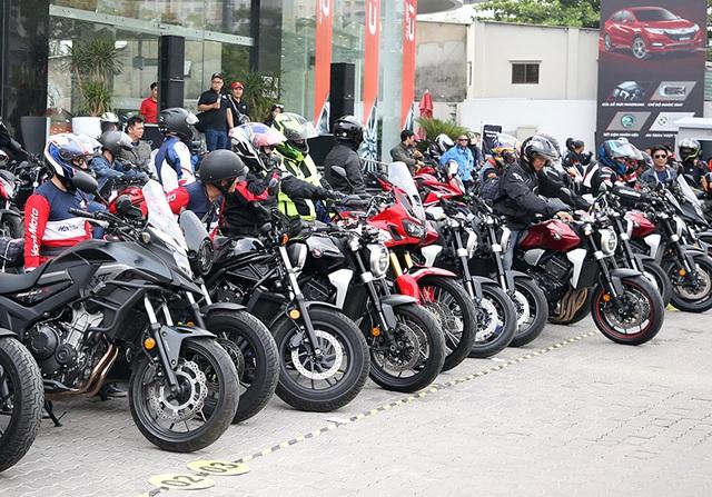Ngày hội trải nghiệm môtô phân phối lớn đầu tiên của Honda tại Việt Nam - 2