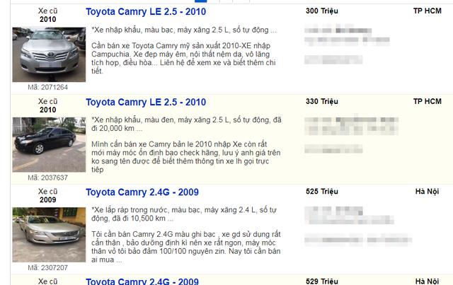 Hàng loạt xe sang qua sử dụng ít năm được rao bán chỉ bằng giá xe cỏ - 2
