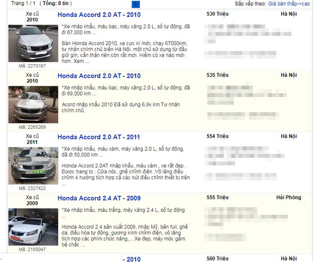 Hàng loạt xe sang qua sử dụng ít năm được rao bán chỉ bằng giá xe cỏ - 5