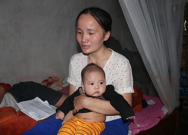Vợ bệnh não ôm 3 con thơ bất lực nhìn chồng sắp mù - 4