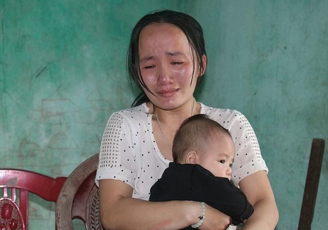 Vợ bệnh não ôm 3 con thơ bất lực nhìn chồng sắp mù - 3
