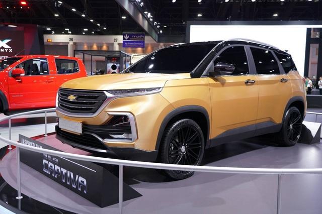Chevrolet Captiva thế hệ mới chính thức ra mắt - 2