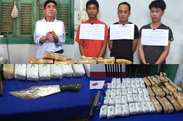 Giám đốc An ninh Lào thăm chiến sĩ biên phòng Việt Nam bị thương trong chuyên án bắt ma túy - Ảnh minh hoạ 2