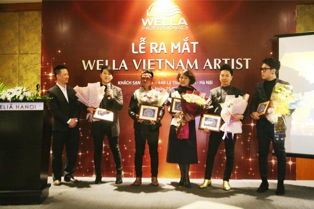 Thương hiệu Wella hợp tác với 5 nhà tạo mẫu tóc hàng đầu Việt Nam - 3