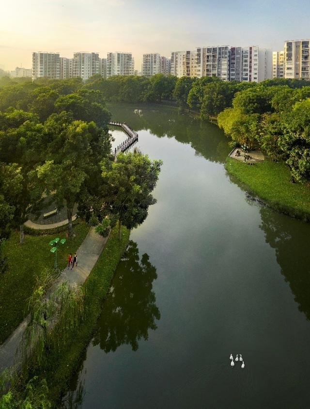 Giải pháp xây dựng không gian xanh cho đô thị Việt Nam - 1