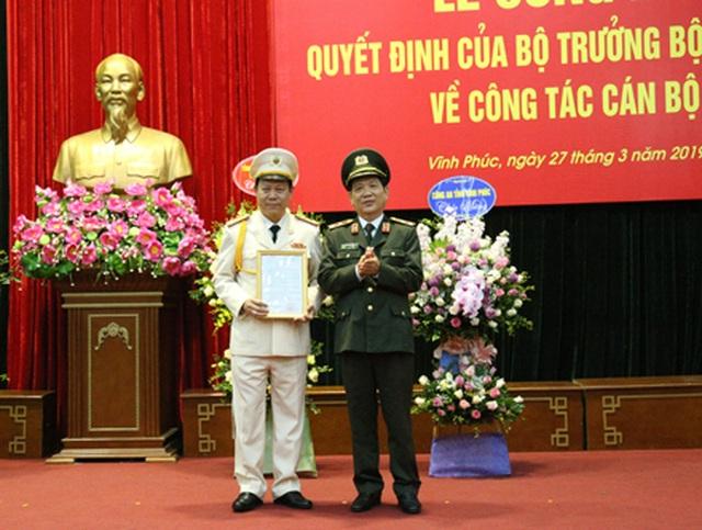 Phó Giám đốc Công an Ninh Bình được bổ nhiệm làm Giám đốc Công an Vĩnh Phúc - 1