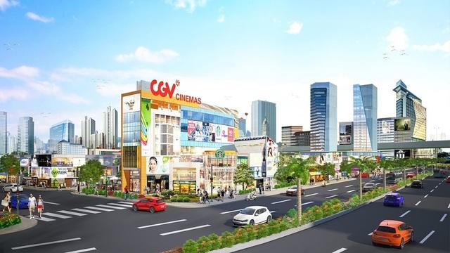 Ra mắt đô thị thương mại cửa ngõ sân bay Long Thành - 1