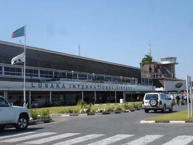Sân bay quốc tế Zambia.
