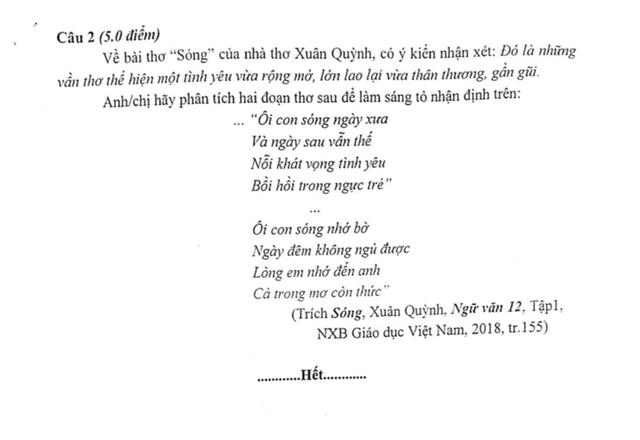 Hướng dẫn làm bài kiểm tra khảo sát môn Ngữ Văn lớp 12 của Hà Nội năm 2019 - 2